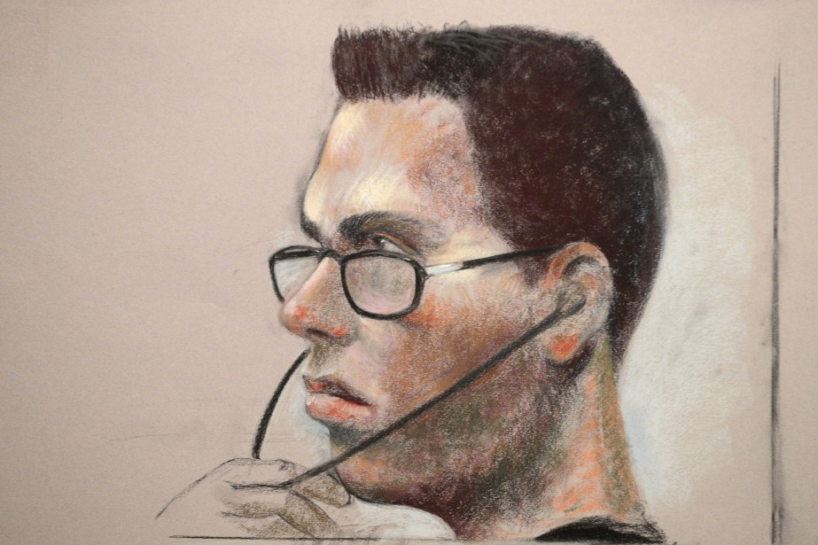 Luka Rocco Magnotta... (Illustration Mike McLaughlin, archives La Presse Canadienne)