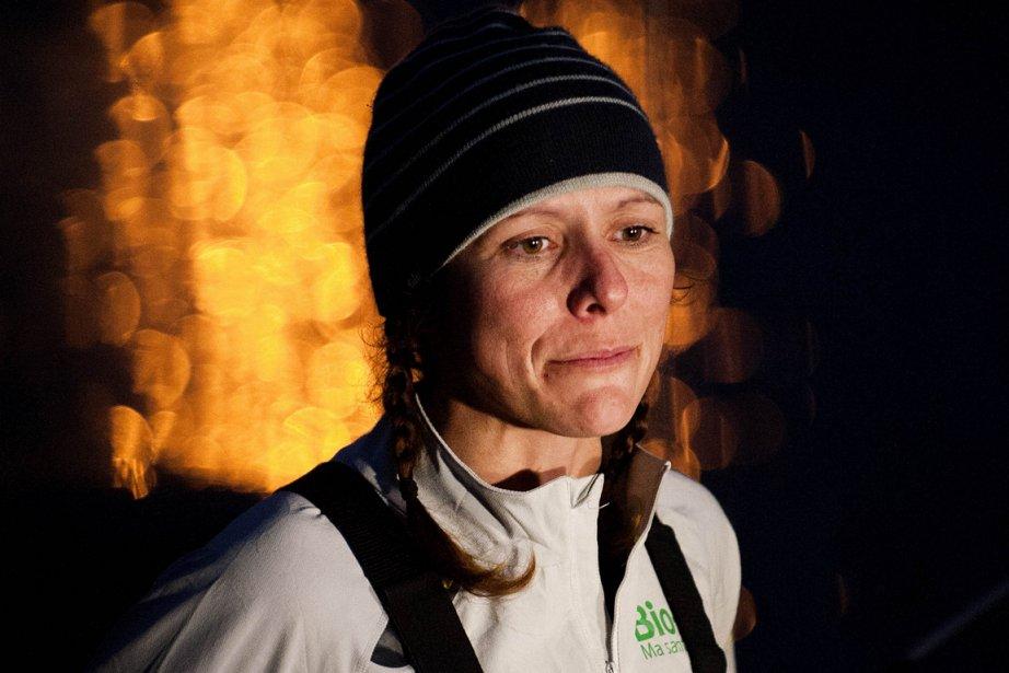Mylène Paquette a traversé l'Atlantique Nord à la... (Photo Jean Sébastien Evrard, AFP)