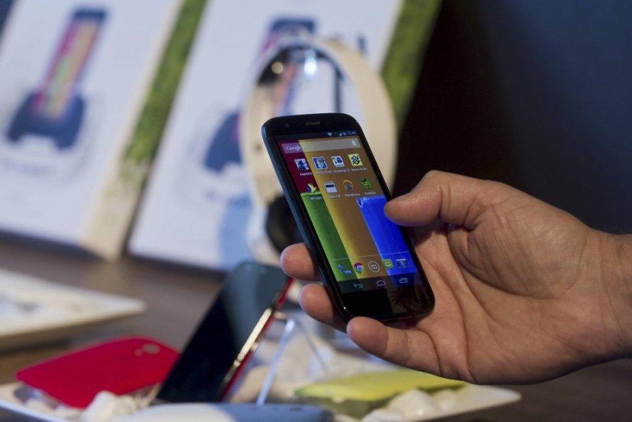 Le Moto G a un écran de 11,5... (PHOTO NELSON ALMEIDA, AFP)