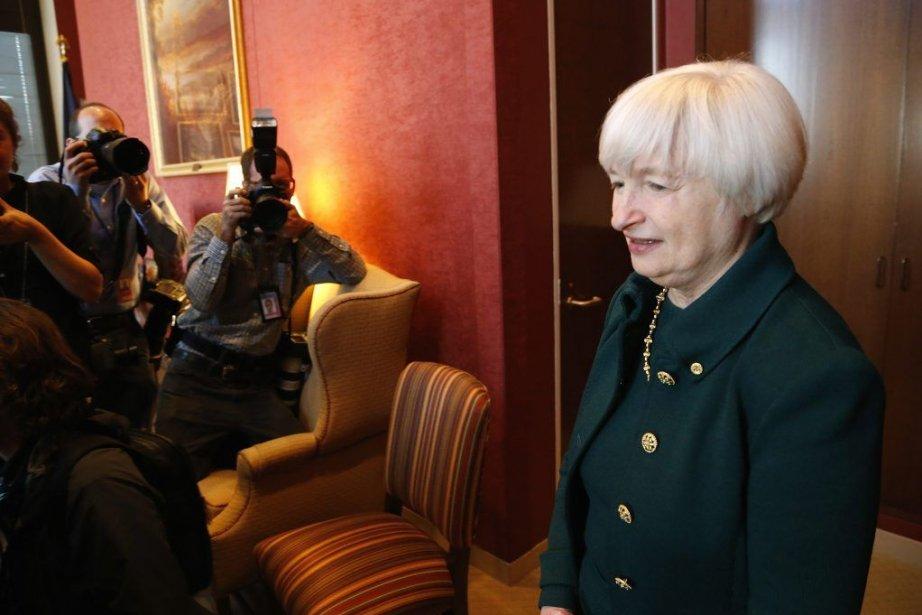 Janet Yellen remplacera Ben Bernanke à la tête... (PHOTO JONATHAN ERNST, REUTERS)