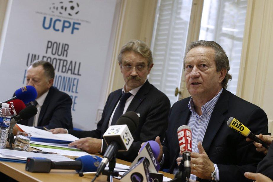 Le président de l'Union des clubs professionnels du... (Photo Thomas Samson, AFP)