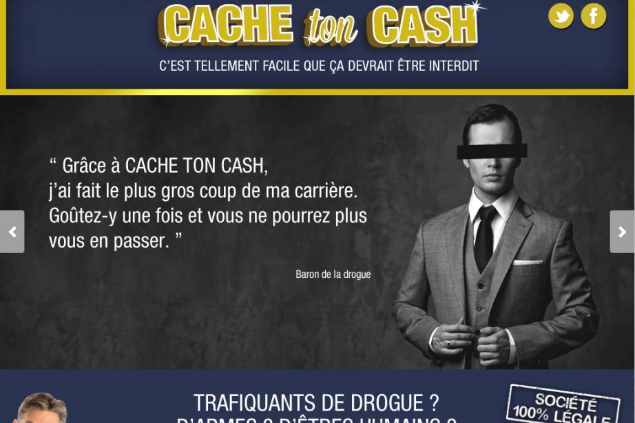 «Cash-ton-cash.com n'est pas un véritable site! Mais il...