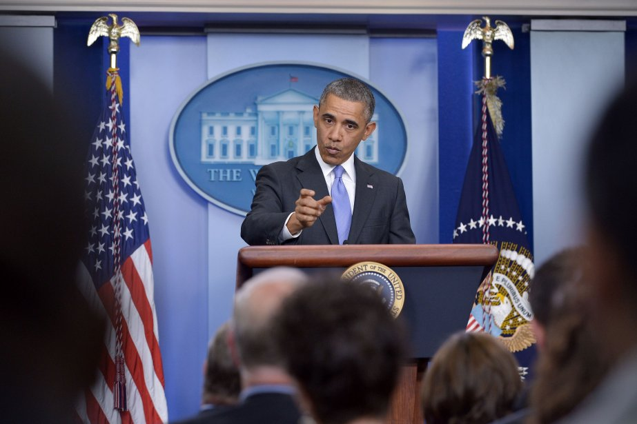 Le dirigeant américain croit qu'un accord tel qu'il... (Photo MANDEL NGAN, AFP)