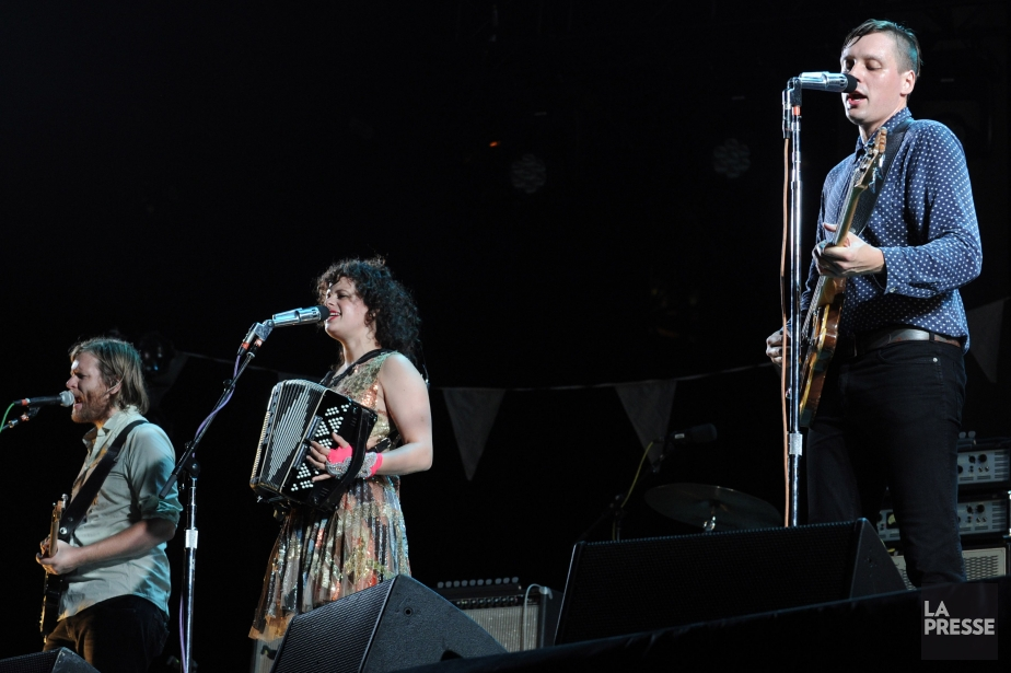 Arcade Fire... (Photo: Bernard Brault, archives La Presse)