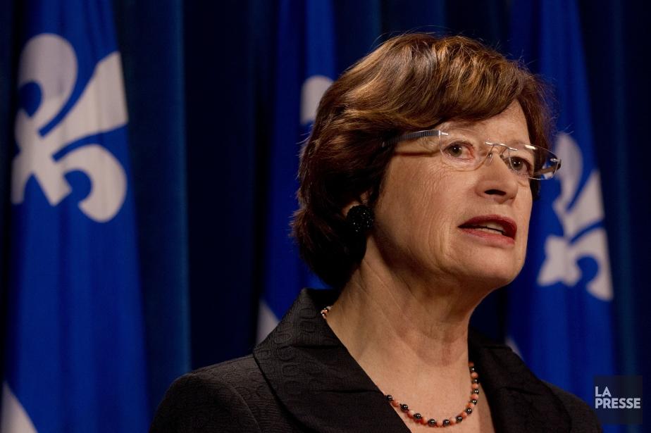 La ministre de l'Éducation, du Loisir et du... (PHOTO IVANOH DEMERS, LA PRESSE)