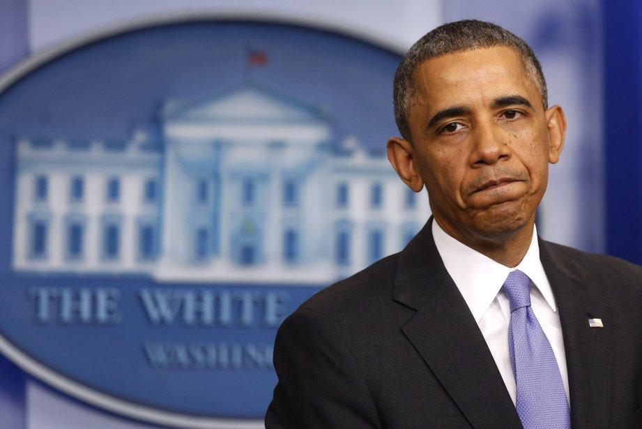 Le président américain, Barack Obama.... (Photo Larry Downing, Reuters)