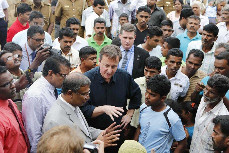 Au grand dam des autorités sri-lankaises, le premier... (PHOTO ERANGA JAYAWARDENA, AP)