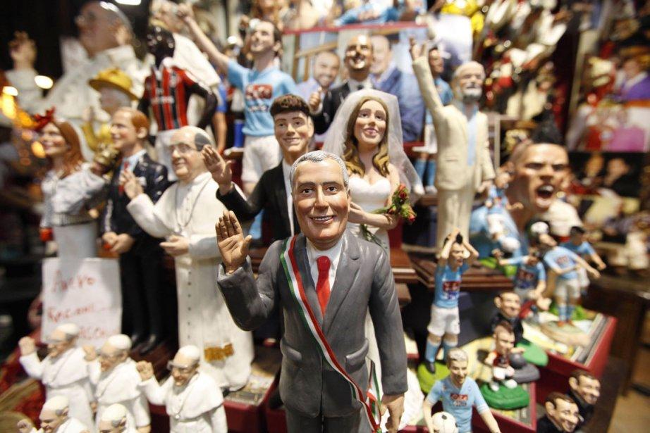 Une «de Blaiso-mania» s'est emparée des habitants de... (PHOTO  CARLO HERMANN, AFP)