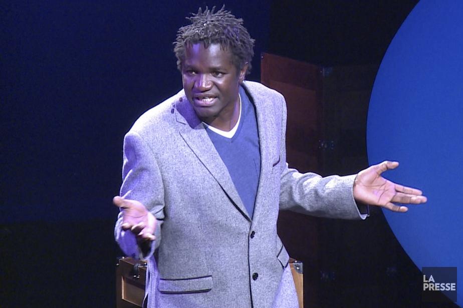 Boucar Diouf a charmé le public hier soir... (Image tirée d'une vidéo, La Presse)