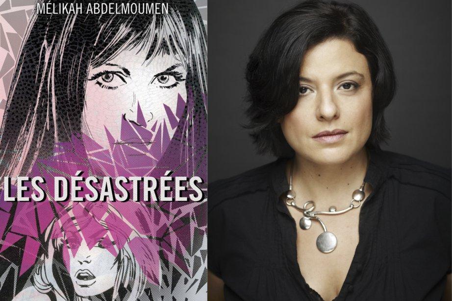 Dans son sixième roman, Mélikah Abdelmoumen rend un... (Photos fournies par VLB)