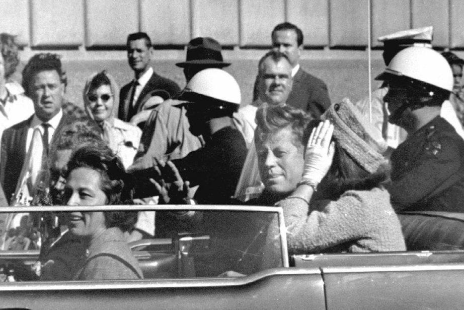Le lieu de l'assassinat de John F. Kennedy,... (Photo Archives Associated Press)