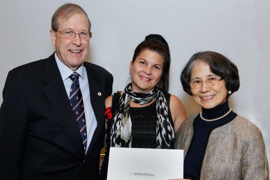 Richard S. Ingram, Satoko Ingram et Nathalie Rodrigue....