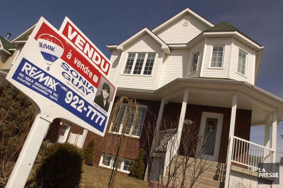 Le prix moyen des résidences vendues au pays... (Photo Alain Roberge, Archives La Presse)