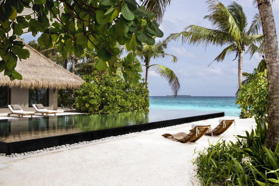 Le nouveal hôtel Cheval Blanc Randheli aux Maldives... (Photo fournie par Cheval Blanc Randheli)
