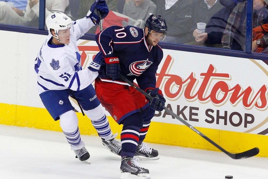Marian Gaborik (10), à droite.... (Photo Russell LaBounty-USA TODAY Sports)