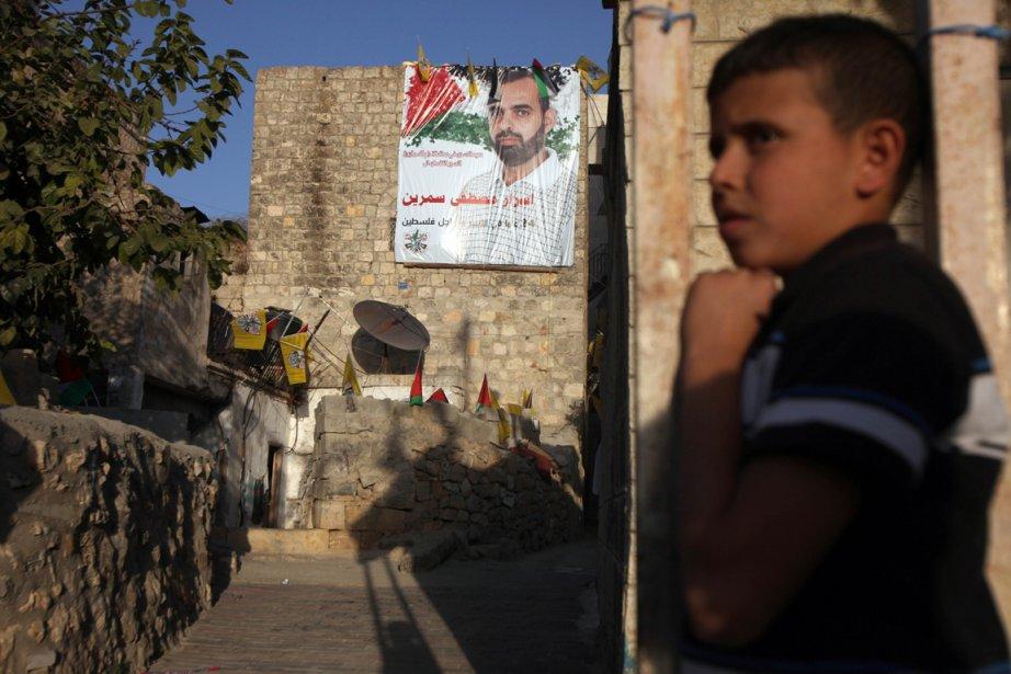 Un enfant dans les Territoires occupés de Cisjordanie.... (Photo Abbas Momani, AFP)