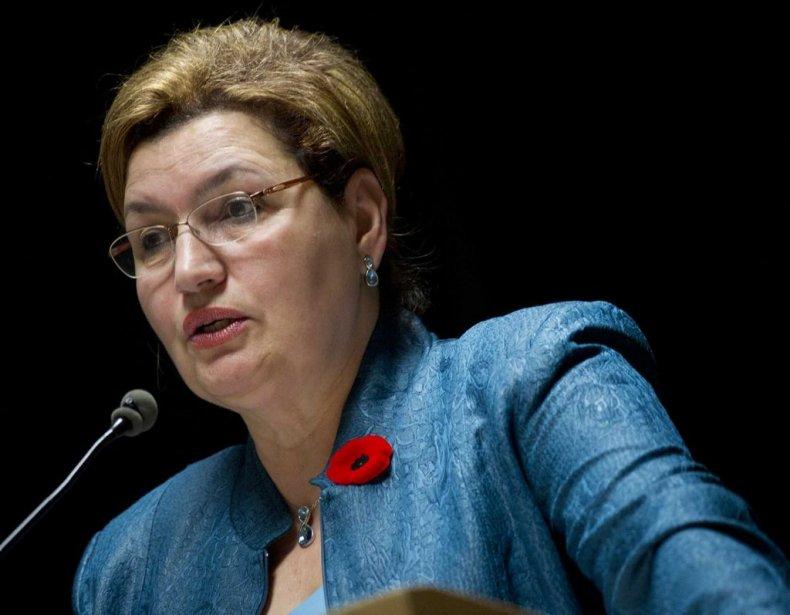 La députée libérale Fatima Houda-Pepin.... (Photo Mylène Gauron)