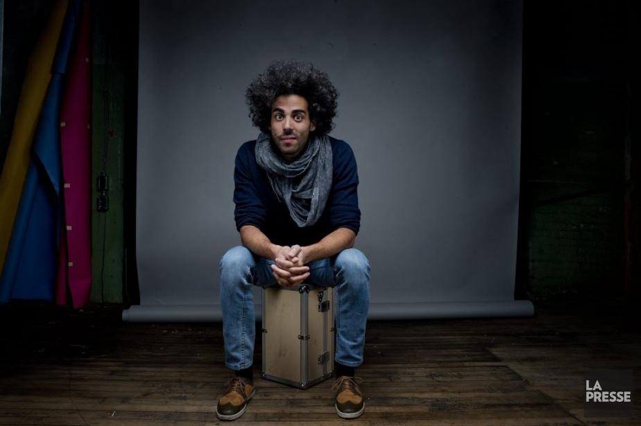 Pour Adib Alkhalidey, l'adolescence a commencé le jour... (PHOTO MARCO CAMPANOZZI, LA PRESSE)