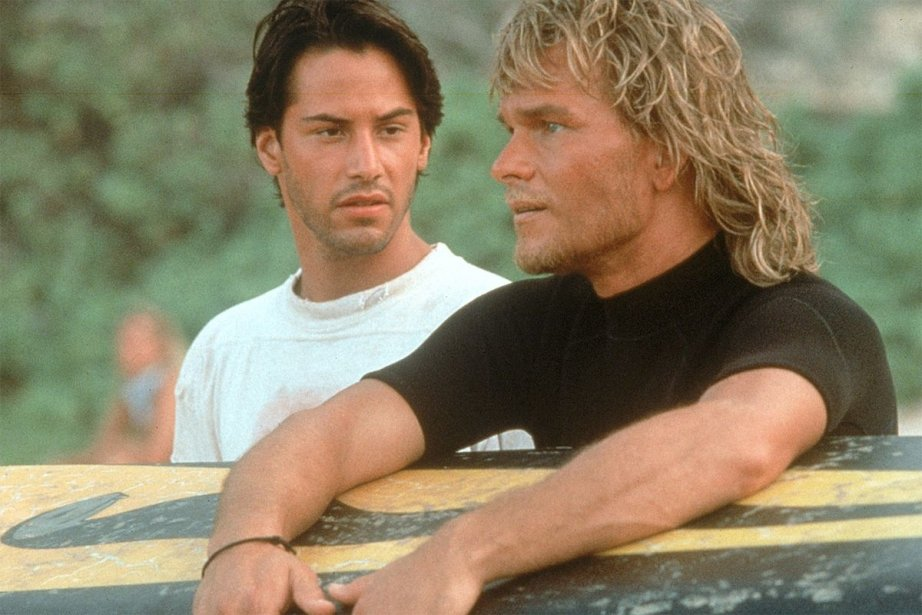 Keanu Reeves et Patrick Swayze dans Point Break... (Photo 20th Century Fox)