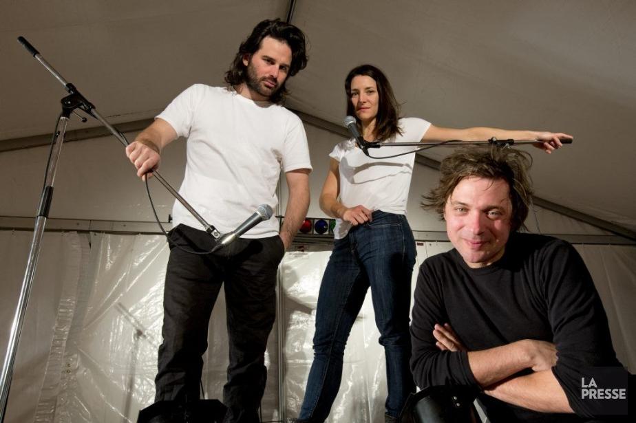 Le metteur en scène Christian Lapointe et les... (PHOTO ALAIN ROBERGE, LA PRESSE)