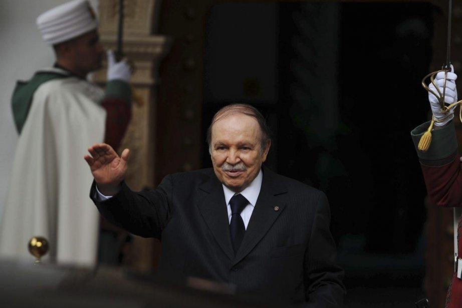 Abdelaziz Bouteflika... (PHOTO FAROUK BATICHE, AFP)