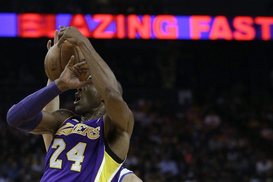 Kobe Bryant des Lakers de Los Angeles.... (Photo Ben Margot, archives AP)