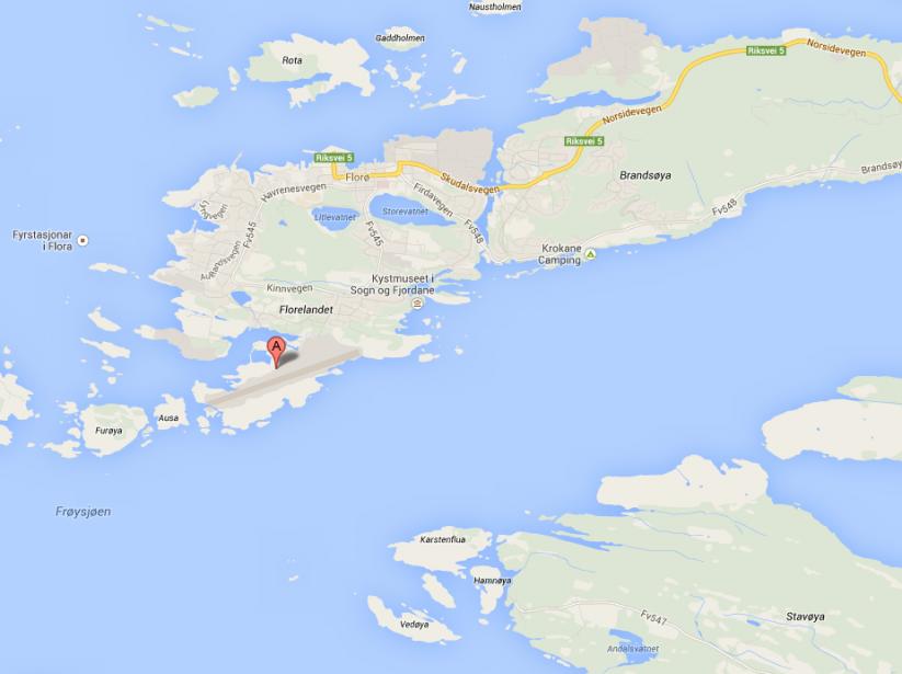 Le navire se dirigeait vers le port de... (Image tirée de Google Maps)