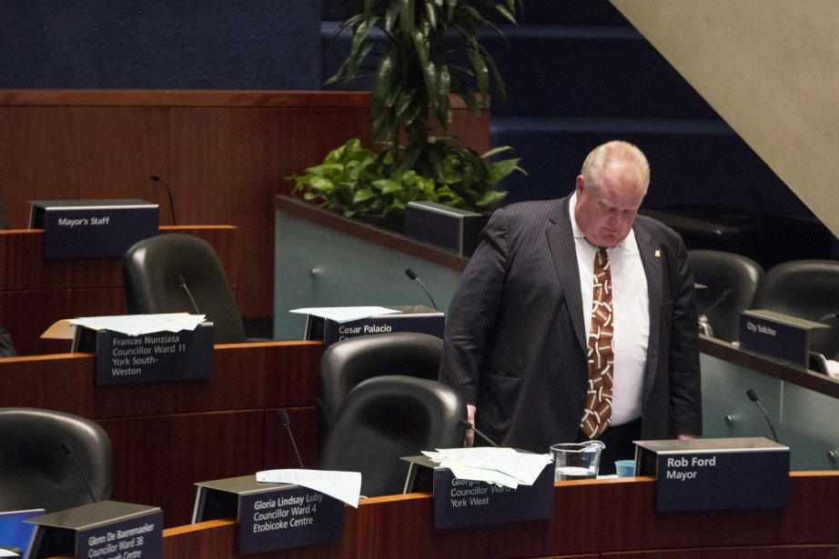 Rob Ford... (Photo Chris Young, PC)