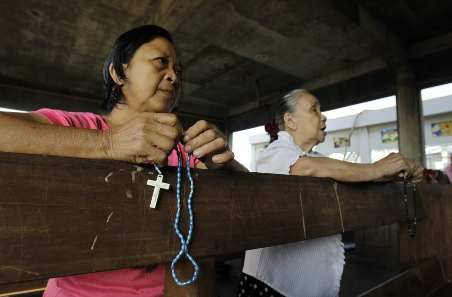 Environ 80% des 100 millions de Philippins sont... (Photo Wally Santana, AP)