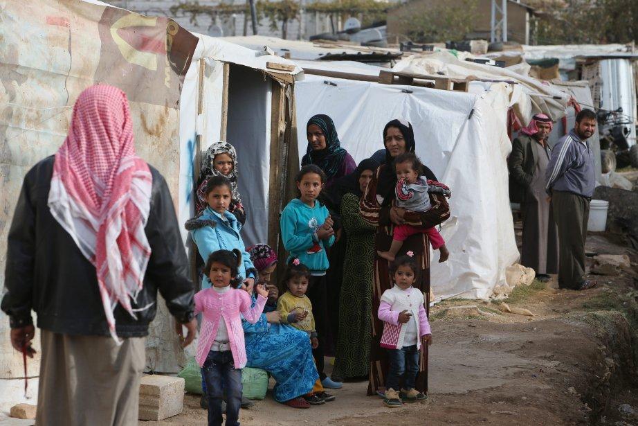 Les réfugiés syriens ont envahi le Liban depuis... (Photo Hussein Malla, AP)