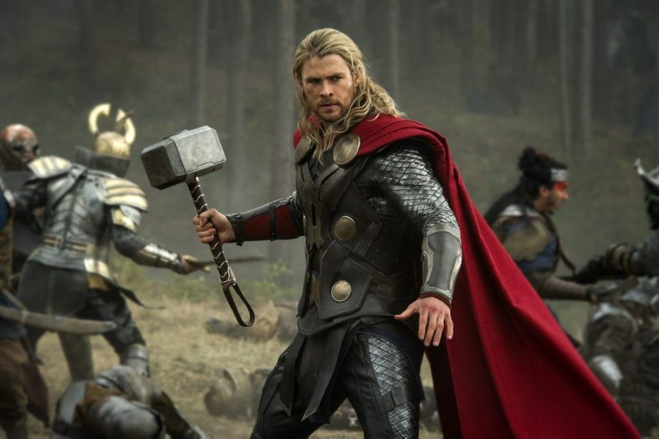 Chris Hemsworth dans une scène de Thor: The... (PHOTO FOURNIE PAR WALT DISNEY/MARVEL)