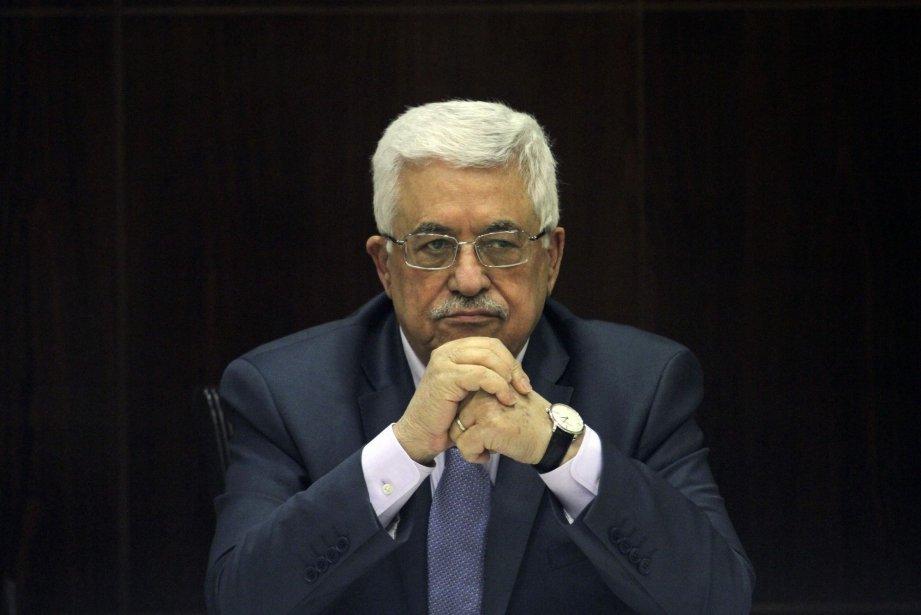 Le président palestinien Mahmoud Abbas.... (Photo archives AP)
