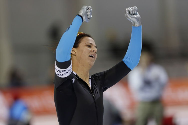 Brittany Bowe... (Photo: Reuters)