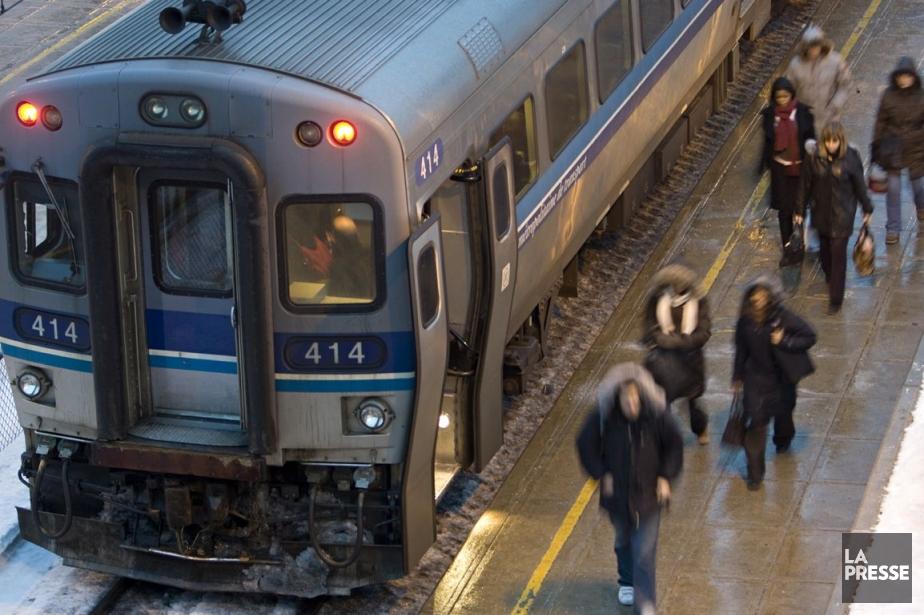 Les investissements dans les transports collectifs génèrent 2,5... (Photo David Boily, archives La Presse)