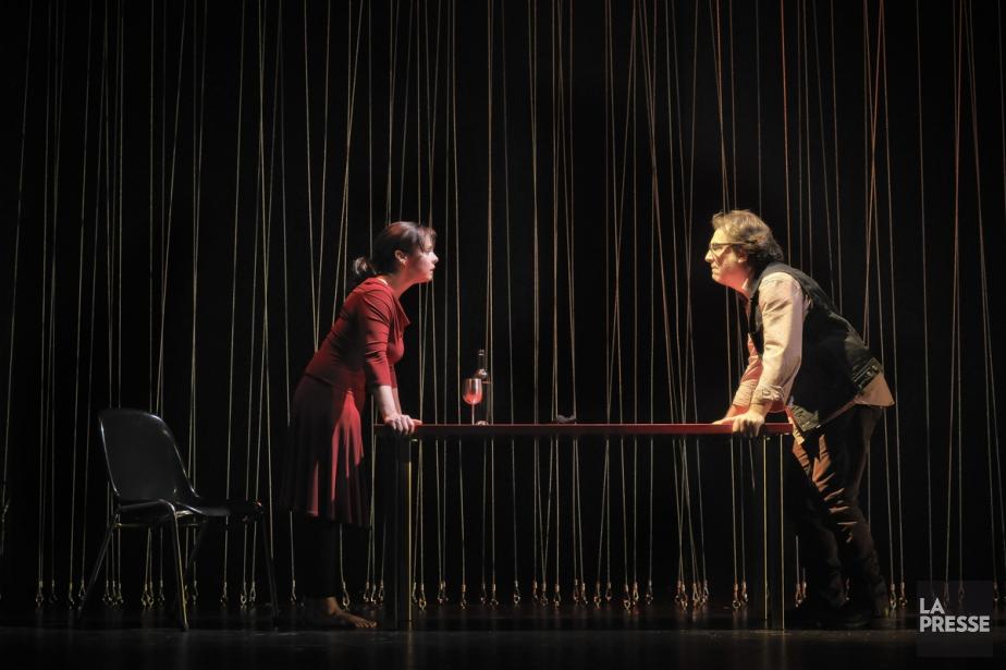 Grâce à Clôture de l'amour,... (Photo: fournie par le Théâtre de Quat'Sous)