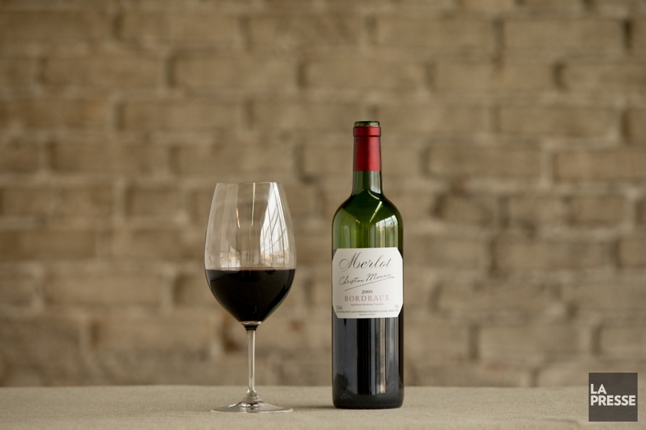 Bordeaux 2009 Merlot Moueix... (Photo David Boily, La Presse)