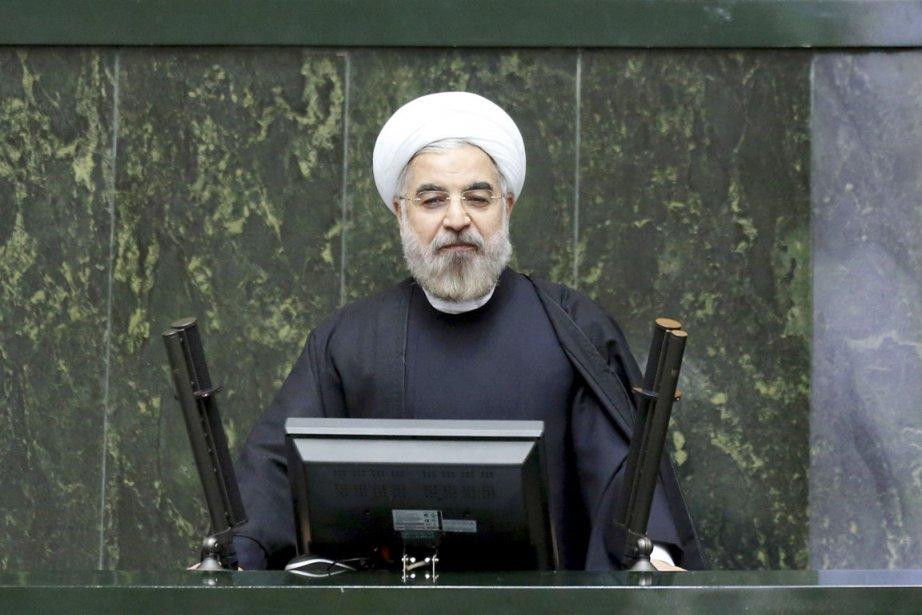 Le président iranien Hassan Rohani.... (PHOTO EBRAHIM NOROOZI, AP)
