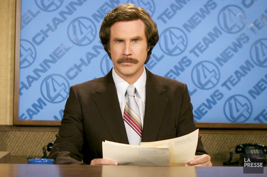 L'acteur Will Ferrell incarne le présentateur de nouvellesRon... (Photo archives La Presse)