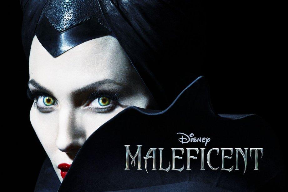 L'affiche du film MaléfiqueavecAngelina Jolie.... (Photo Disney, RelaxNews)