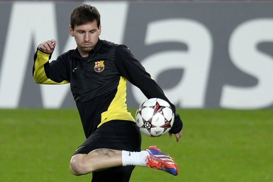 Lionel Messi sera à l'écart de la compétition... (Photo Lluis Gene, AFP)