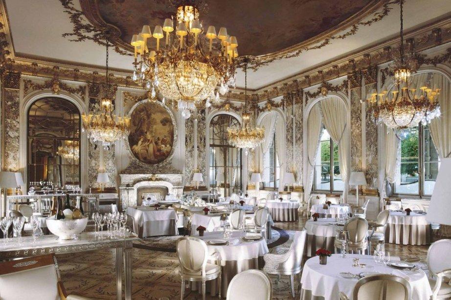 Le Meurice à Paris, deuxième restaurant le plus... (Photo Le Meurice, RelaxNews)