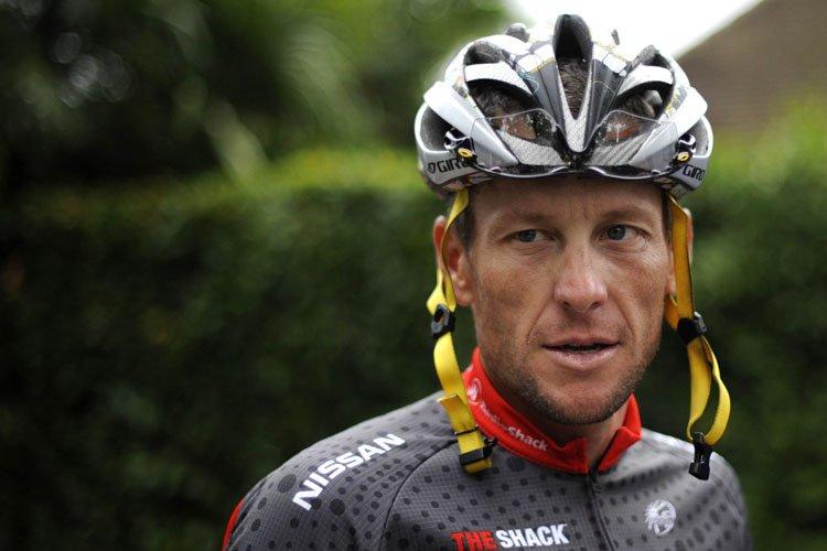 Lance Armstrong au Tour de France en 2010.... (Photo: AFP)