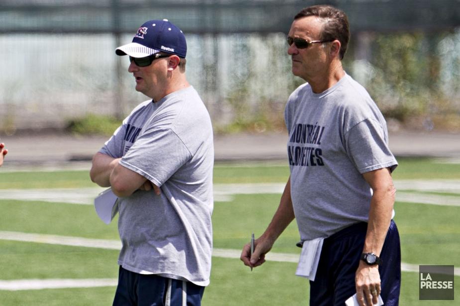 Mike Miller et Doug Berry... (Photo Anne Gauthier, La Presse)