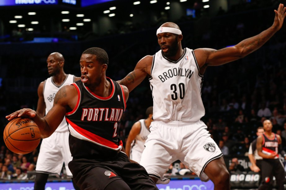 Wesley Matthews, des Trail Blazers de Portland, et... (Photo Anthony Gruppuso, USA Today)