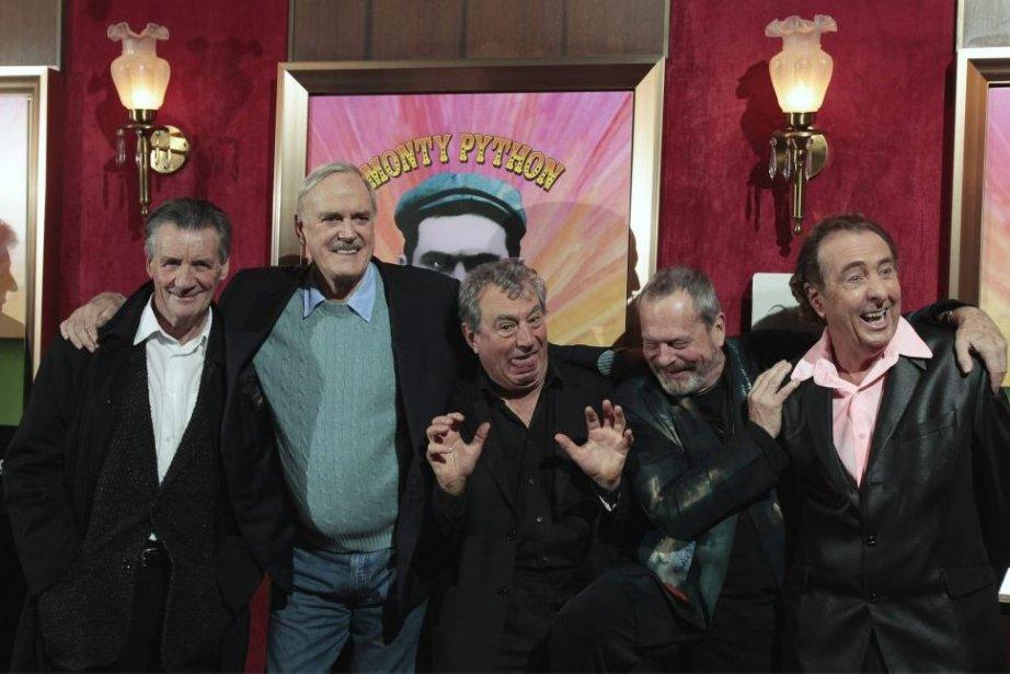La troupe originala des Monty Python: Michael Palin,... (Photo: archives Reuters)