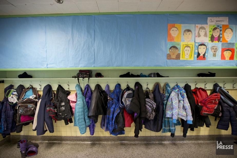 L'école La Mosaïque, à Côte Saint-Luc.... (Photo David Boily, La Presse)