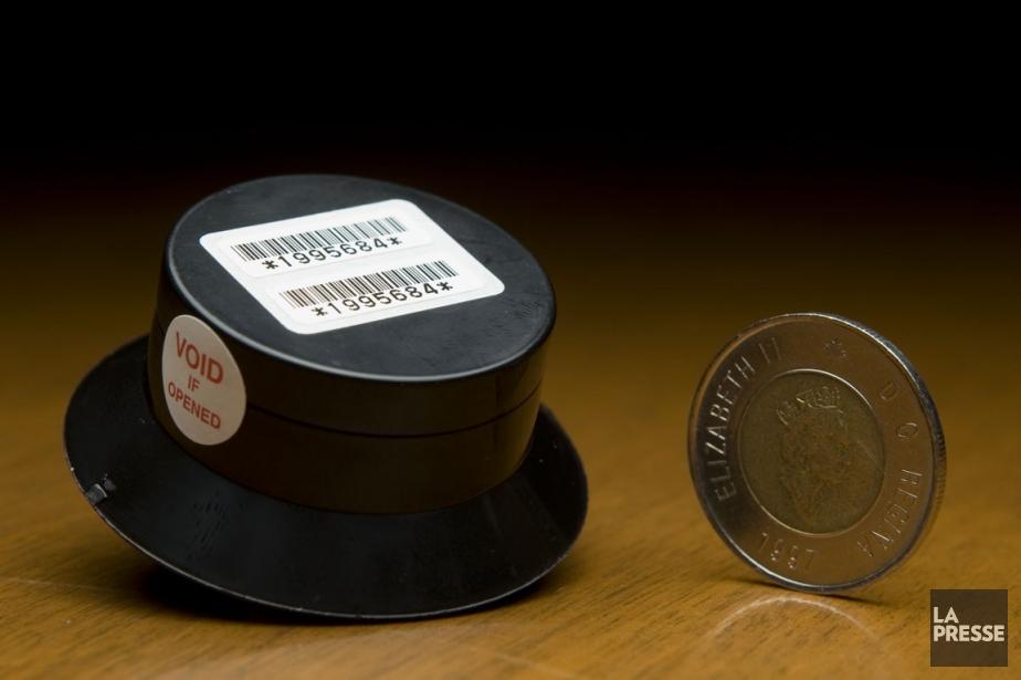 Un dosimètre, vendu par l'Association pulmonaire du Québec,... (Photo David Boily, La Presse)