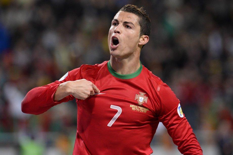 Cristiano Ronaldo... (Photo Jonathan Nackstrand, AFP)