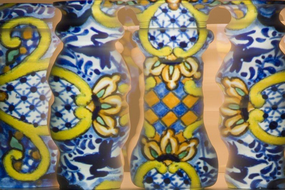 Les poteries de Greg Payce s'inspire du cinéma,... (Photo: fournie par Art Mûr)