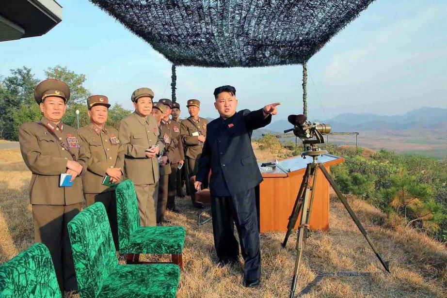 Le jeune leader nord-coréenKim Jong-un.... (Photo AFP)